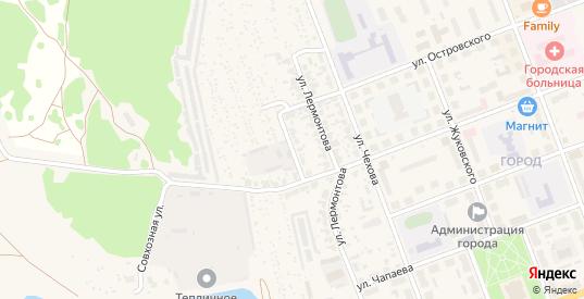 Улица Толстого в Верхнем Тагиле с номерами домов на карте. Спутник и схема онлайн