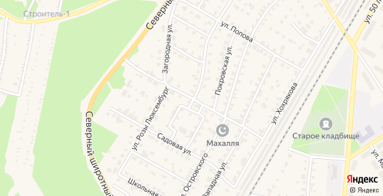 Улица Декабристов в Североуральске с номерами домов на карте. Спутник и схема онлайн