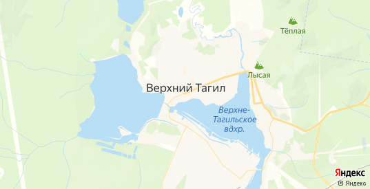 Карта Верхнего Тагила с улицами и домами подробная. Показать со спутника номера домов онлайн