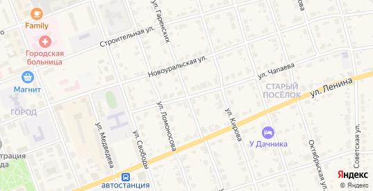 Улица Гаренских в Верхнем Тагиле с номерами домов на карте. Спутник и схема онлайн