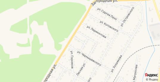 Сосновая улица в Североуральске с номерами домов на карте. Спутник и схема онлайн