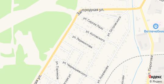Улица Лермонтова в Североуральске с номерами домов на карте. Спутник и схема онлайн