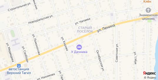 Улица Карла Маркса в Верхнем Тагиле с номерами домов на карте. Спутник и схема онлайн