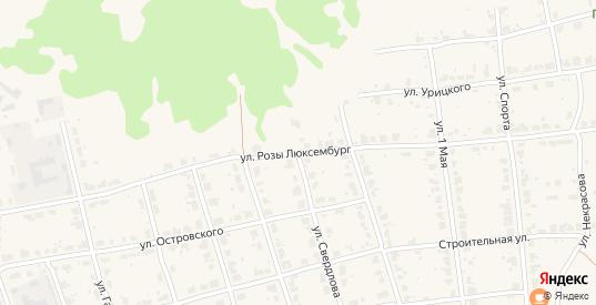 Улица Розы Люксембург в Верхнем Тагиле с номерами домов на карте. Спутник и схема онлайн