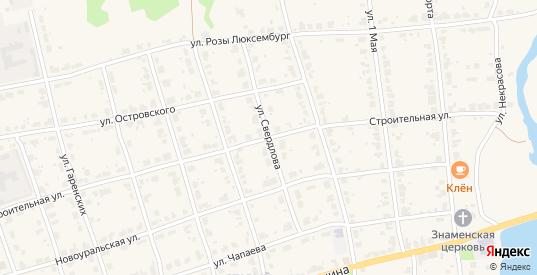 Улица Свердлова в Верхнем Тагиле с номерами домов на карте. Спутник и схема онлайн