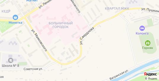 Улица Свердлова в Североуральске с номерами домов на карте. Спутник и схема онлайн