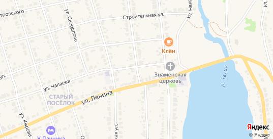 1 Мая улица в Верхнем Тагиле с номерами домов на карте. Спутник и схема онлайн
