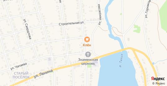 Улица Спорта в Верхнем Тагиле с номерами домов на карте. Спутник и схема онлайн