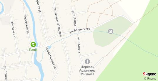 Улица 8 Марта в Верхнем Тагиле с номерами домов на карте. Спутник и схема онлайн