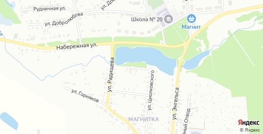 Улица Крупской в Первоуральске с номерами домов на карте. Спутник и схема онлайн