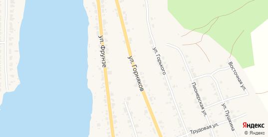 Улица Горняков в Верхнем Тагиле с номерами домов на карте. Спутник и схема онлайн