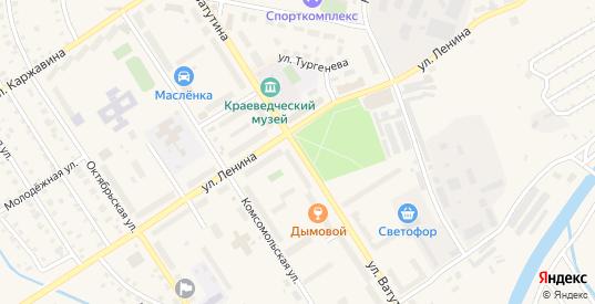 Улица Ватутина в Североуральске с номерами домов на карте. Спутник и схема онлайн