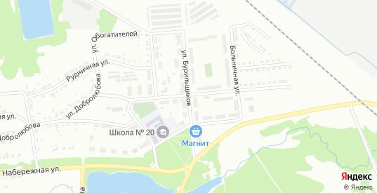 Улица Бурильщиков в Первоуральске с номерами домов на карте. Спутник и схема онлайн