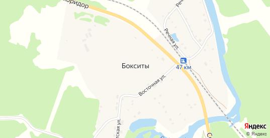 Улица Железнодорожников в поселке Бокситы в Североуральске с номерами домов на карте. Спутник и схема онлайн