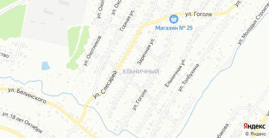 Заречная улица в Первоуральске с номерами домов на карте. Спутник и схема онлайн