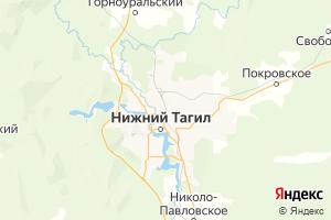 Карта г. Нижний Тагил