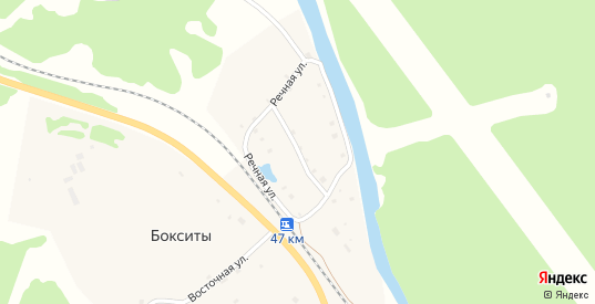 Речная улица в поселке Бокситы в Североуральске с номерами домов на карте. Спутник и схема онлайн