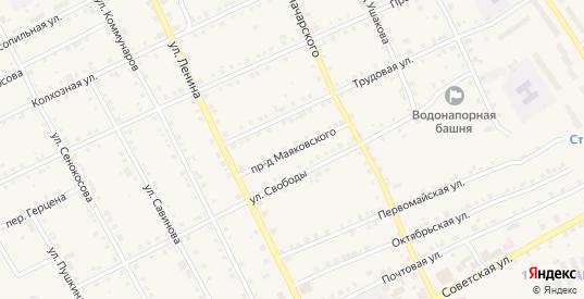 Проезд Маяковского в Карпинске с номерами домов на карте. Спутник и схема онлайн