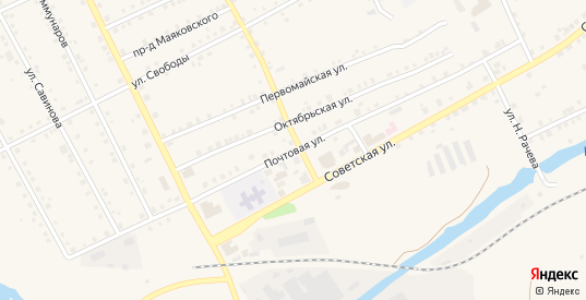 Почтовая улица в Карпинске с номерами домов на карте. Спутник и схема онлайн