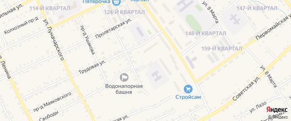 Улица Свободы на карте Карпинска с номерами домов