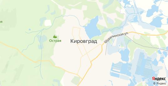 Карта Кировграда с улицами и домами подробная. Показать со спутника номера домов онлайн