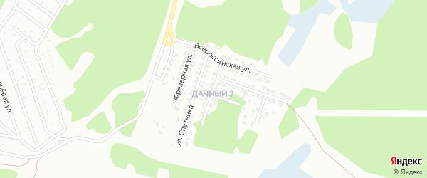 Кузнечная улица на карте Миасса с номерами домов