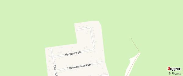 Северный переулок на карте Черновского села с номерами домов