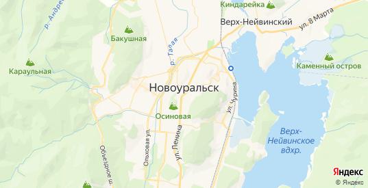 Карта Новоуральска с улицами и домами подробная. Показать со спутника номера домов онлайн