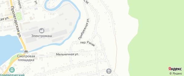 Улица Озолина на карте Миасса с номерами домов