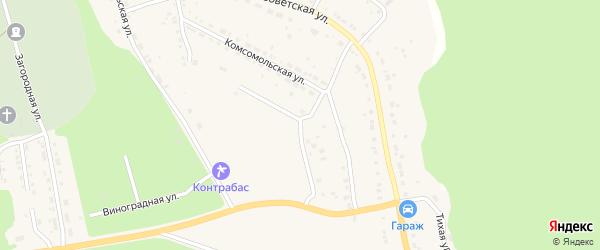 Улица Белинского на карте Дегтярска с номерами домов
