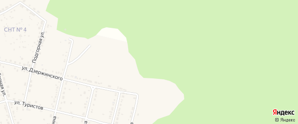 Улица Солнечная долина 2-я линия на карте Дегтярска с номерами домов
