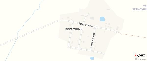 Молодежная улица на карте Восточного поселка с номерами домов