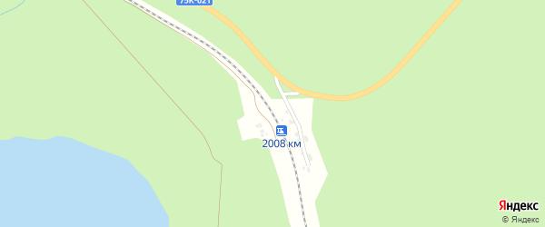 Станция 2008 км на карте Миасса с номерами домов