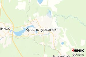 Карта г. Краснотурьинск Свердловская область