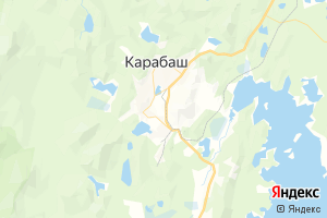 Карта г. Карабаш
