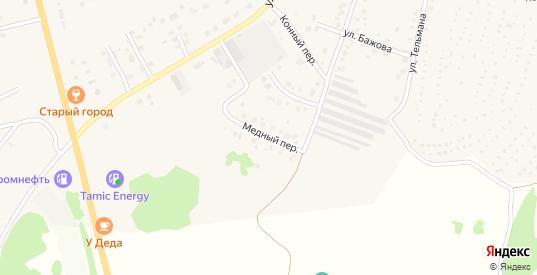 Медный переулок в Невьянске с номерами домов на карте. Спутник и схема онлайн