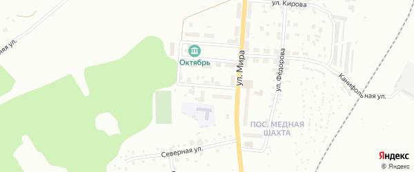 Улица Олега Кошевого на карте Краснотурьинска с номерами домов