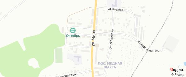 Улица Мира на карте Краснотурьинска с номерами домов