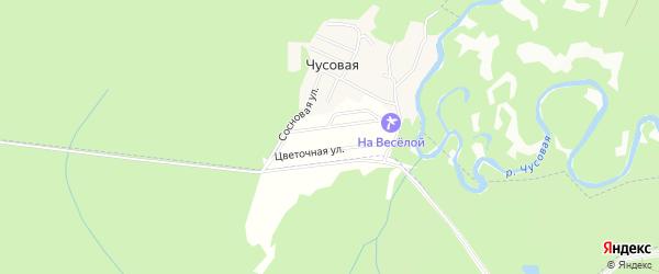 Территория садово-огородническое некоммерческое товарищество Заря на карте Дегтярска с номерами домов