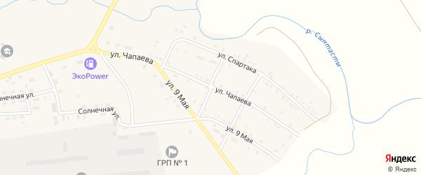 Улица Тельмана на карте поселка Бредов с номерами домов
