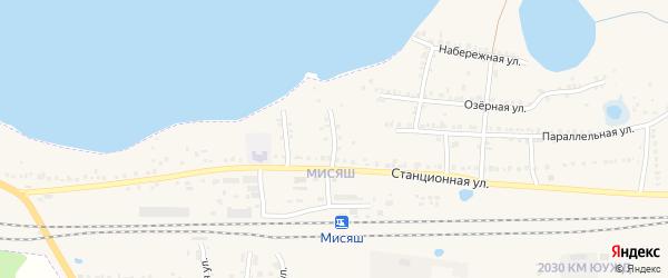 Промысловый переулок на карте Чебаркуля с номерами домов