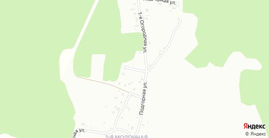 Подгорный переулок в Серове с номерами домов на карте. Спутник и схема онлайн