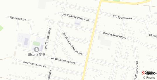 Переулок Циолковского в Серове с номерами домов на карте. Спутник и схема онлайн