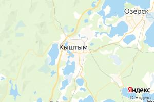 Карта г. Кыштым