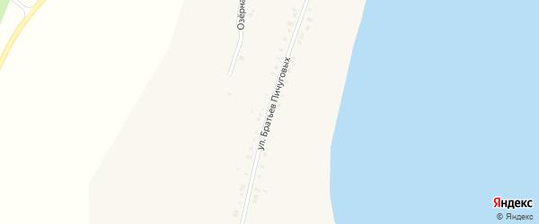 Улица Братьев Пичуговых на карте Губернского села с номерами домов