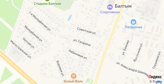Улица Гагарина в Верхней Пышме с номерами домов на карте. Спутник и схема онлайн