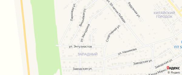 Улица Отдыха на карте Карталы с номерами домов