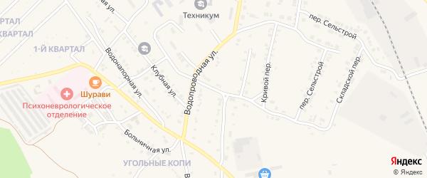 Торговый переулок на карте Карталы с номерами домов