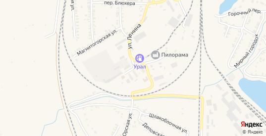 Улица 2-й Стройучасток в Карталы с номерами домов на карте. Спутник и схема онлайн