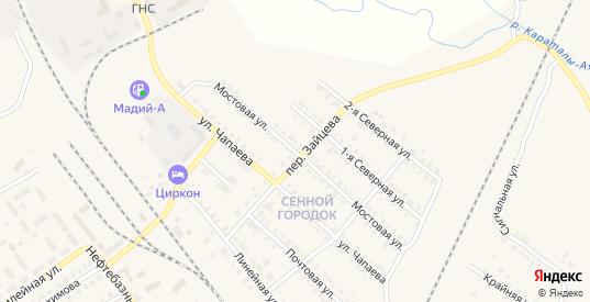 Мостовая улица в Карталы с номерами домов на карте. Спутник и схема онлайн